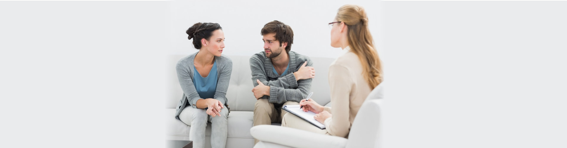 two people having therapy